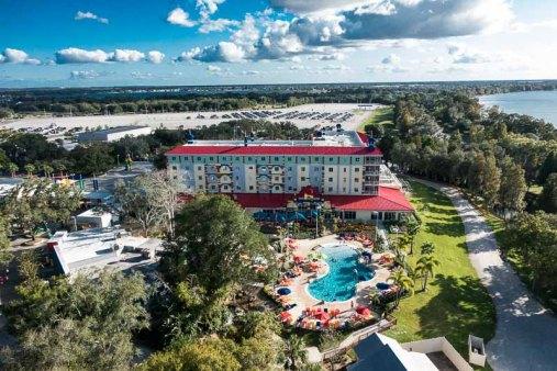 The Legoland hotel.