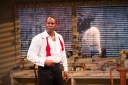 OBIE Award–winning John Douglas Thompson in Terry Teachout's Satchmo at the Waldorf playing at A.C.T.'s Geary Theater January 13–February 7. Photo by T. Charles Erickson.