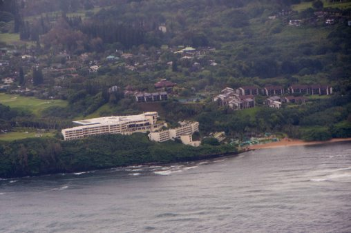 The St. Regis resort in Princeville