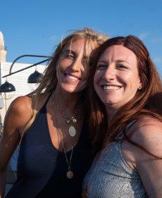 Julie and Tessa
